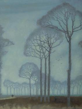 Row of Trees_by Jan Mankes