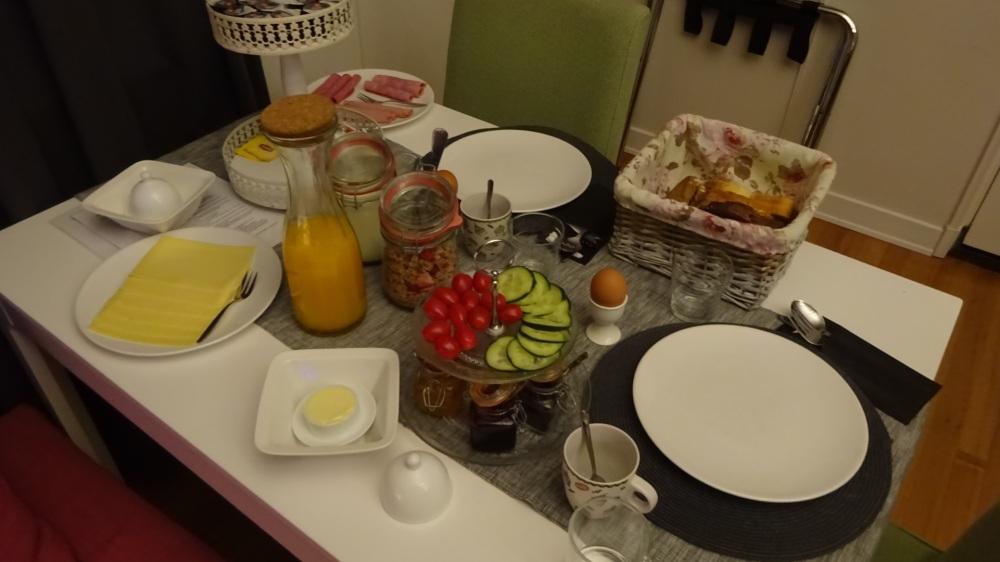 vorstelijk ontbijt
