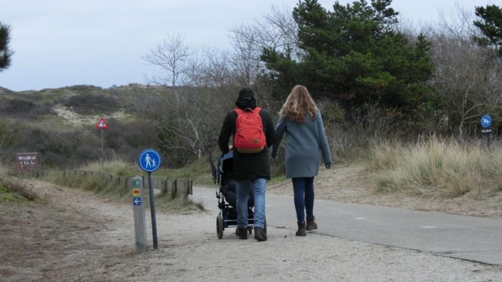 wandelaars hollands duin