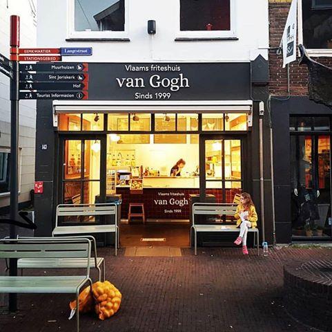 Vlaams friteshuis van Gogh_ bron foto Arne Zuyderduin
