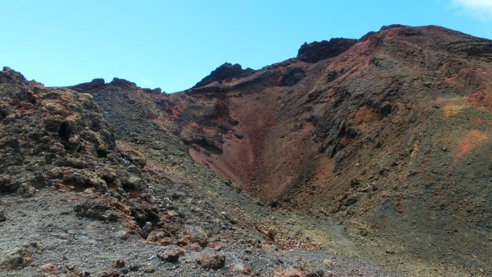 Kraterrand Teneguia