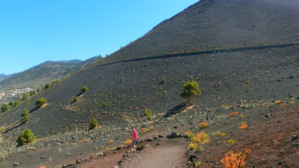 Vulkaan landschap