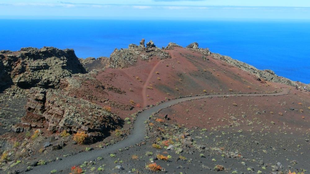 Vulkanische maanlandschap