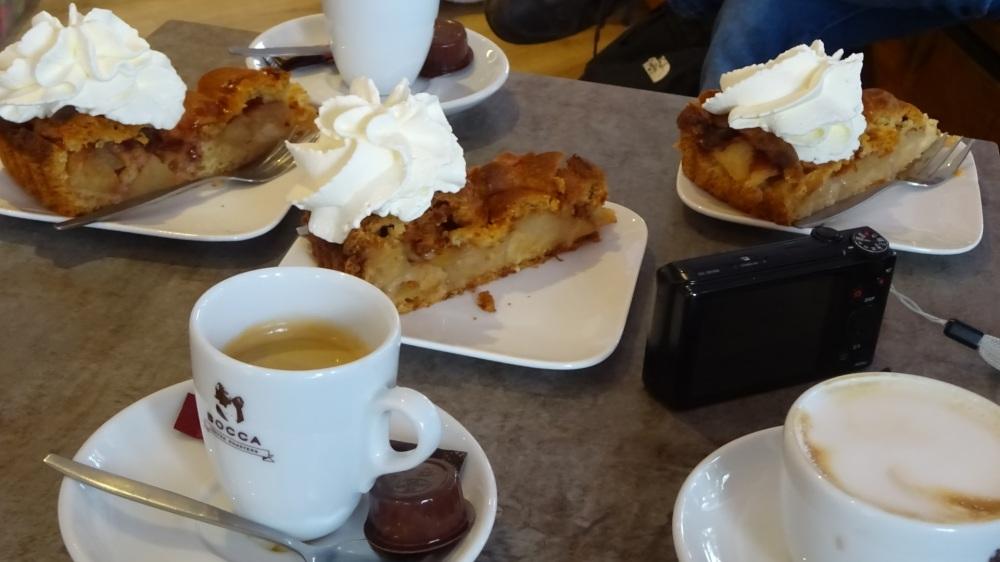Koffie met gebak