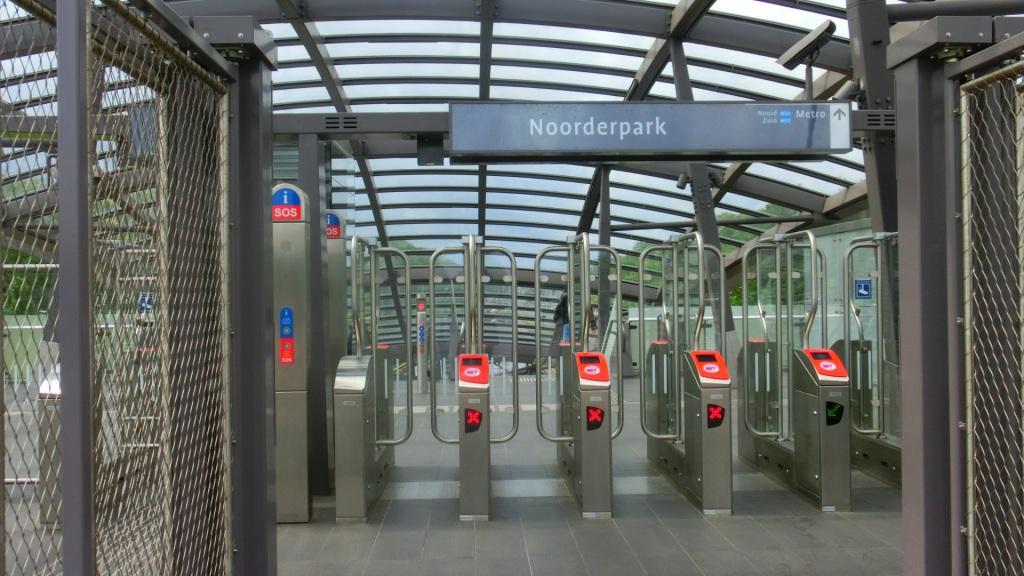 Metrohalte Noorderpark