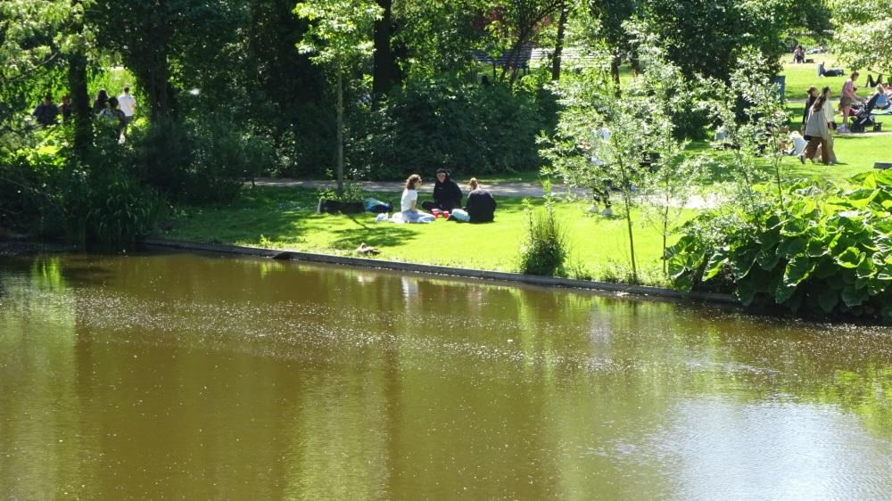 Park volop in gebruik