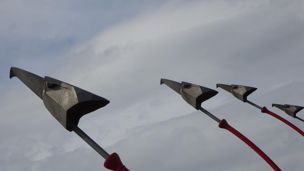Vogels op de Phythonbrug