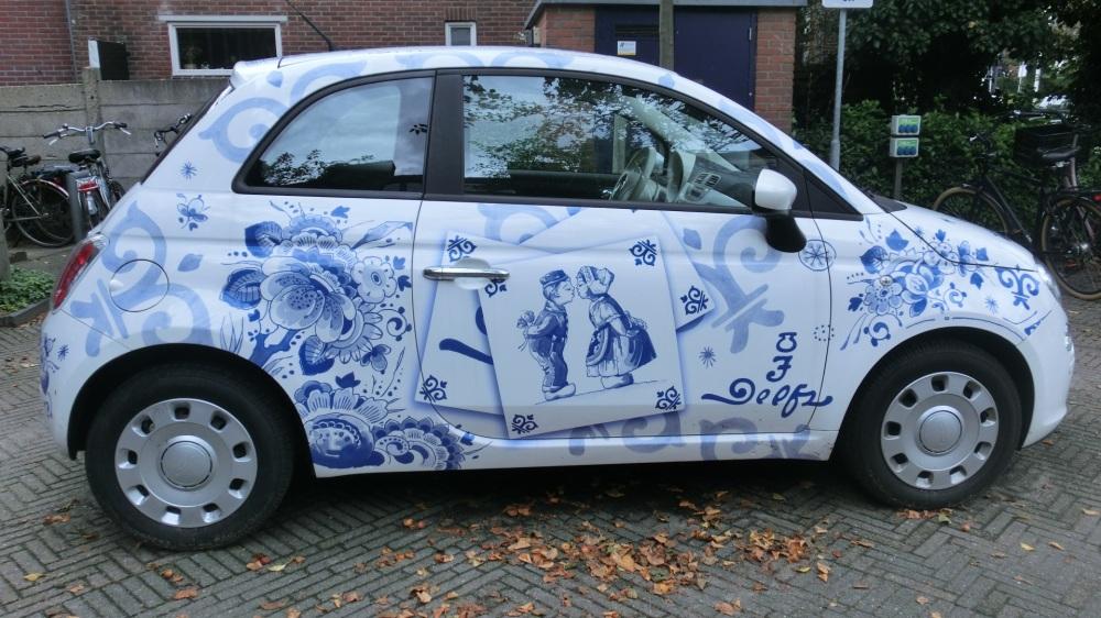 Royal Delft auto