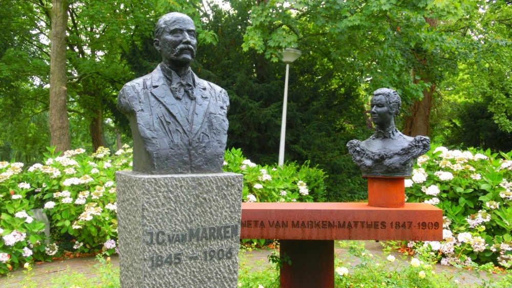 Borstbeeld Van Marken en Matthes
