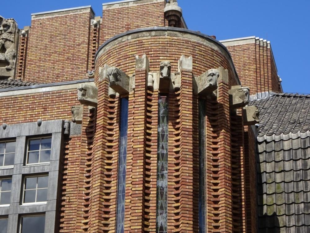 Paardenkoppen Anatomiegebouw