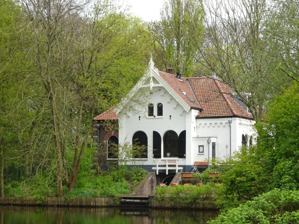 Wandelen en borrelen in het Flevopark Amsterdam