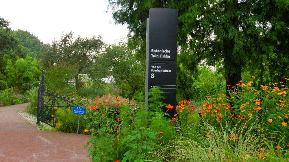 Botanische tuin Zuidas