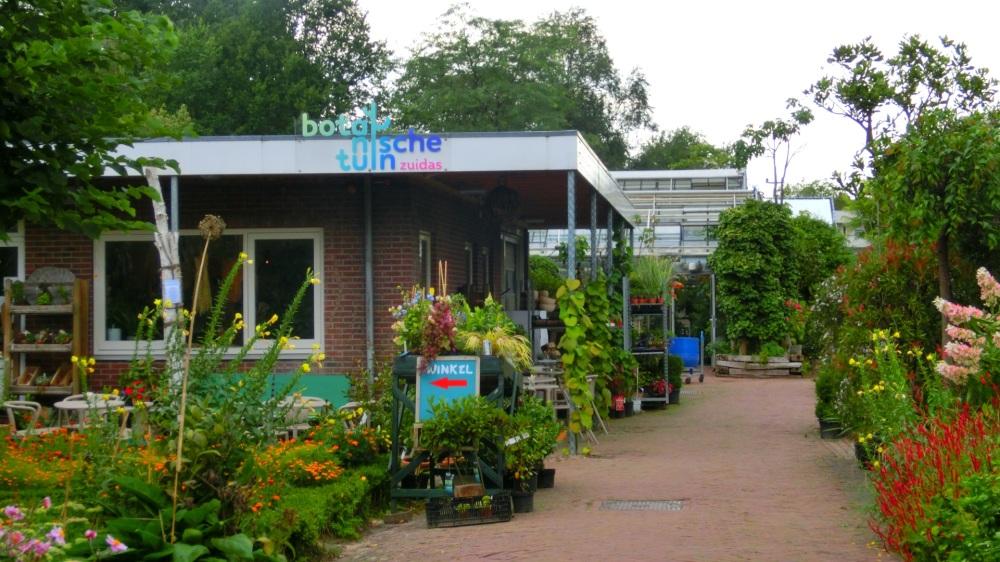 Winkel botanische tuin Zuidas