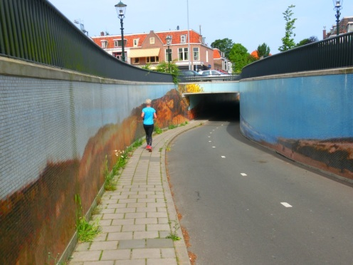 Fietstunnel Wassenaar
